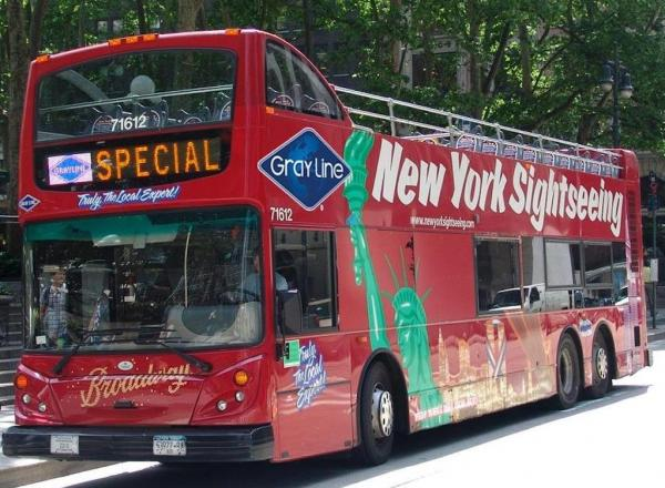 Hop On Hop Off tour New York